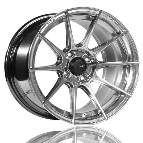 MX5 ND Advanti Racing Storm S1  17x8 4X100, ET35 Hyper Silver Keeps your standard  tyres